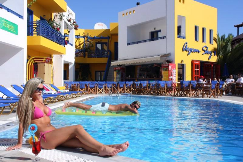 Hotel Aegean Sky - Malia - Heraklion Kreta